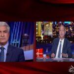 """عمرو أديب يقرأ رسالة من """"الإبراشي"""" على الهواء.. (فيديو)"""