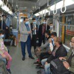 «مترو الأنفاق» تطلق 4 تعليمات جديدة للركاب بشأن الإجراءات الاحترازية