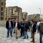 جولة تفقدية لمسئولو «الإسكان» بمشروعات المنيا الجديدة