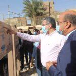 وزير الاثار يفتتح معبد إيزيس في أسوان